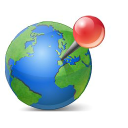 Map Business Online Icon